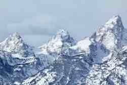 Grand Teton National park in winter