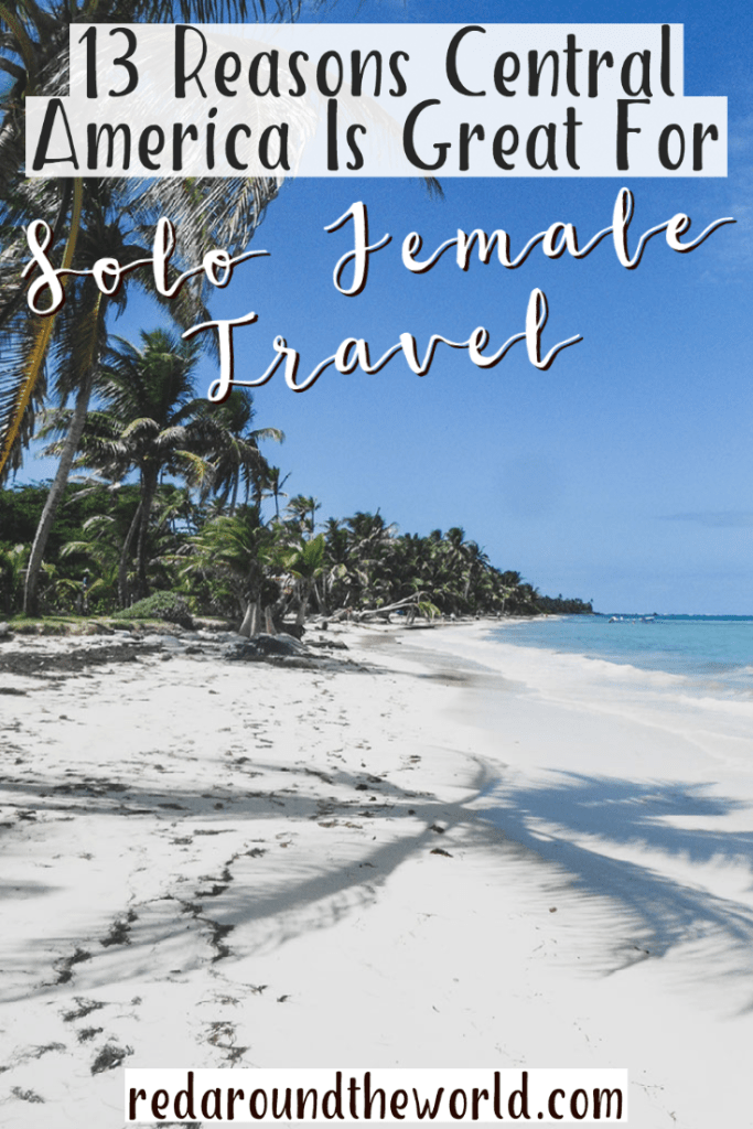 Solo travel in Central America is amazing.  It's the perfect destination for solo female travel.  Central america solo travel | central america travel | central america solo female travel | solo female travel places | solo female travel destinations | central america things to do | beautiful destinations | dream vacation
