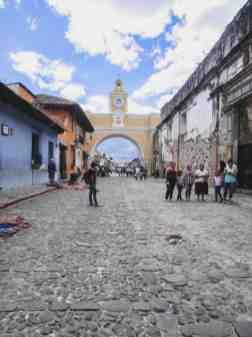 antigua guatemala arch