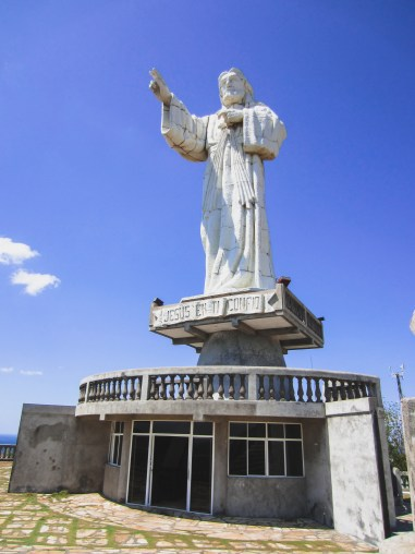 jesus statue san juan del sur nicaragua