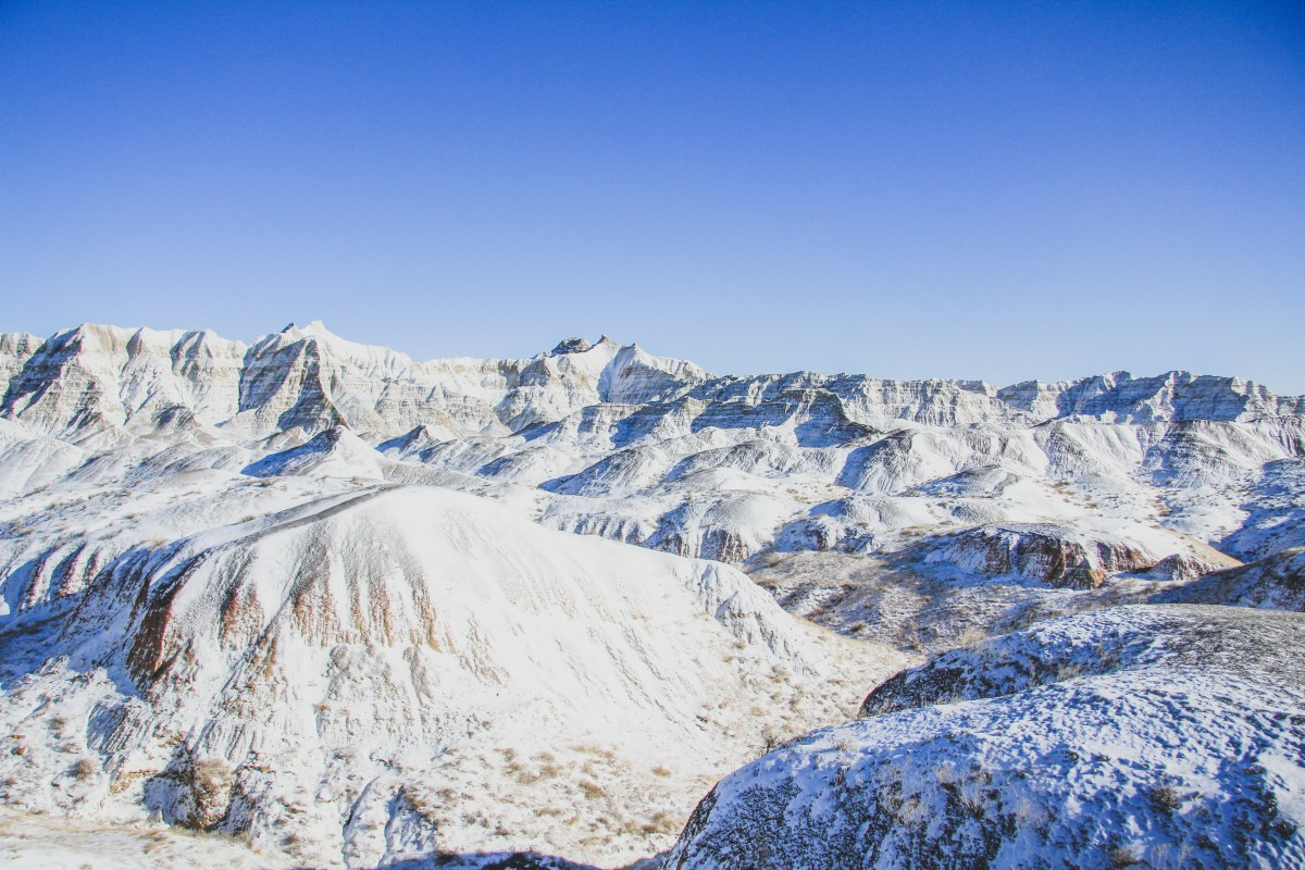 Badlands Below Zero: Tips For Visiting In The Winter