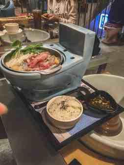 modern toilet restaurant toilet themed restaurant taipei taiwan
