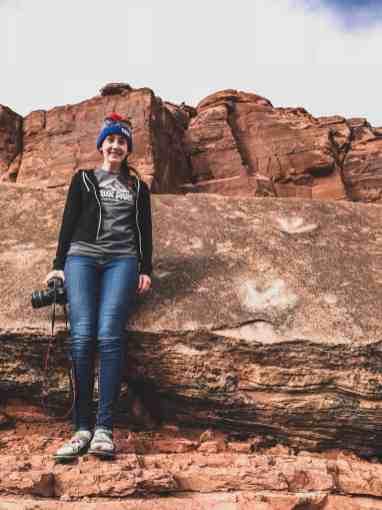 Dinosaur tracks Potash Road Moab Utah
