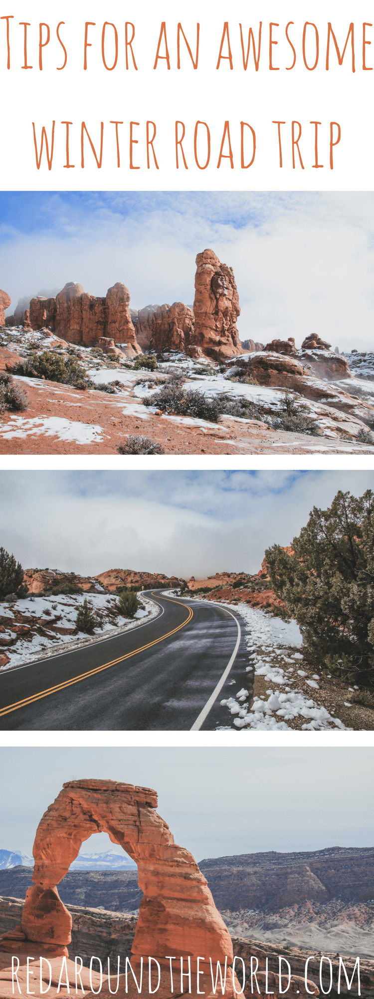 Tips for an awesome winter road trip in the US