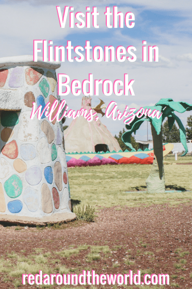 Visit Bedrock City in Williams, Arizona