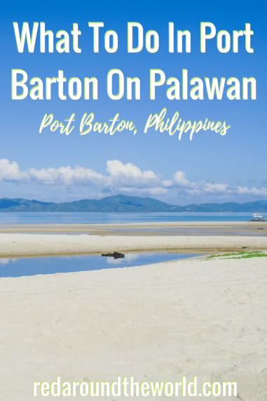 What To Do In Port Barton On Palawan