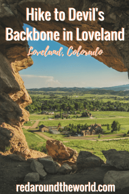 Hike to Devil's Backbone in Loveland, Colorado