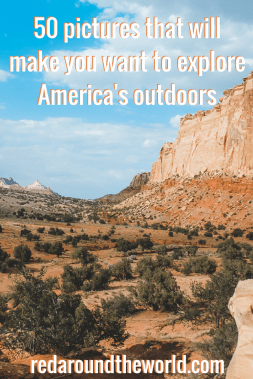 The US has so much to offer in terms of outdoor activities. It's an extremely diverse country with every landscape you can imagine meaning there is somewhere of everyone. These are some of the best national parks and best outdoor destinations in the US. #travel #hiking #usa #roadtrip #usaroadtrip #lakepowell #utah #nationalparks #devilstower #capitolreef #brycecanyon #arches #zion #badlands #southdakota #florida #camping