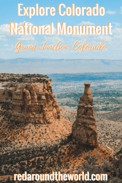 Hike to the Devils Kitchen in Colorado National Monument. Colorado National Monument in Grand Junction, Colorado is a hidden gem. There is tons of hiking near Fruita, Colorado in the park.#colorado #hiking #usa #travel #roadtrip #nationalpark