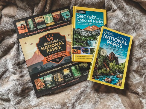 National park books