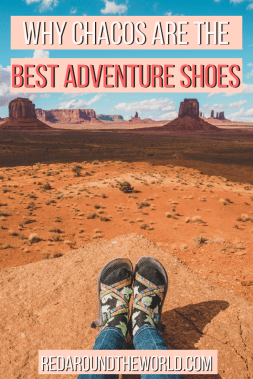 Chacos are the best hiking shoes for all types of terrain from the Zion Narrows to the Rocky Mountains. Hiking in Chacos is easy and comfortable.