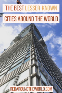 Wile I'm more of an outdoor person, I still love to visit a good city. These are some of the best lesser-known cities around the world that are my favorites. They are also great cities for solo travel, even solo female travel.