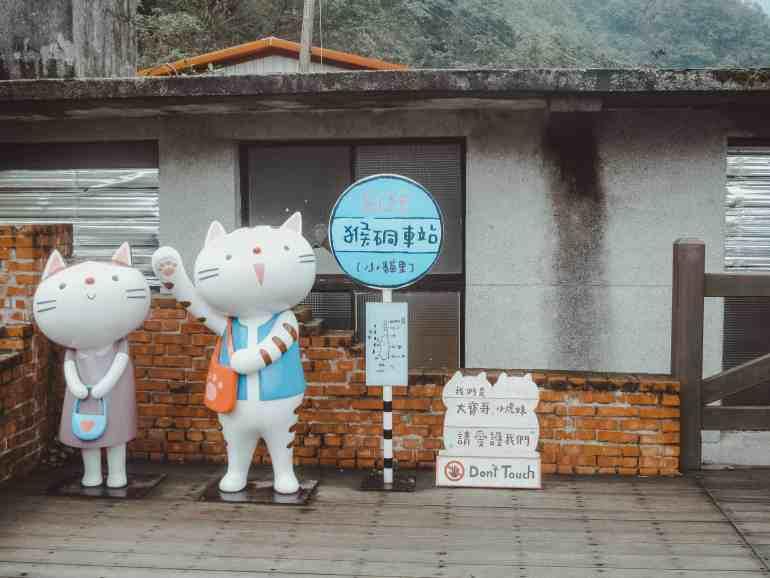 Houtong cat village Taiwan taipei day trip