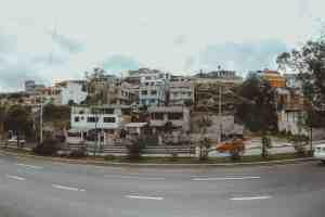 street in quito ecuador
