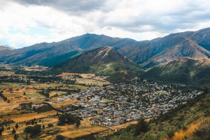 view of arrowtown in new zealand