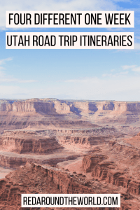 This guide will help you plan the ultimate Utah road trip itinerary including national parks, state parks, scenic drives and more. Use one or combine them for a longer Utah road trip.