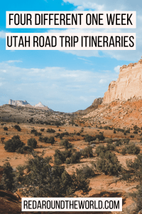 This guide will help you plan the ultimate Utah road trip itinerary including national parks, state parks, scenic drives and more. Use one or combine them.