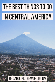 Central America is a great destination for people that love the outdoors. These are some of the highlights of Central America and some of the best hikes. Swim in Semuc Champey, climb volcan pacaya and volcan acetenango, kayak Lake Atitlan, learn to surf in El Tunco, go diving in the Honduras bay islands, try zip lining in Costa Rica, and visit the costa rica national parks.