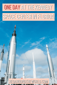 It would be easy to spend a few days at the space center, but this will help you plan one day at the Kennedy Space Center in Titusville, Florida. This is a great day trip from Orlando or a day trip from Cocoa Beach.