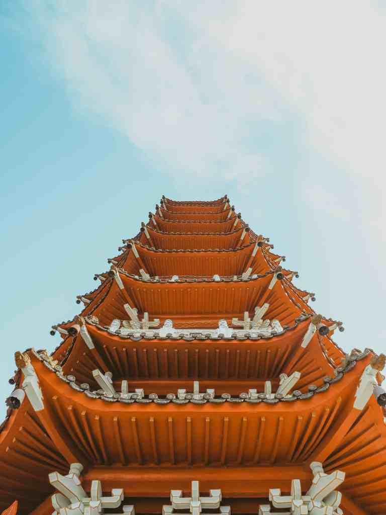 Cien Pagoda sun moon lake taiwan