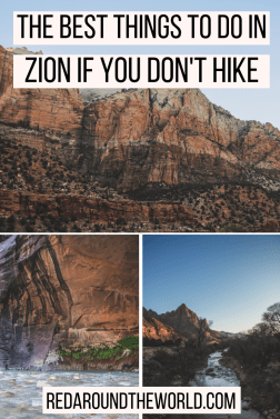 Zion National Park is the most popular national park in Utah. It has some of the best hikes in Utah but this will tell you what to do in Zion that isn't hiking.
