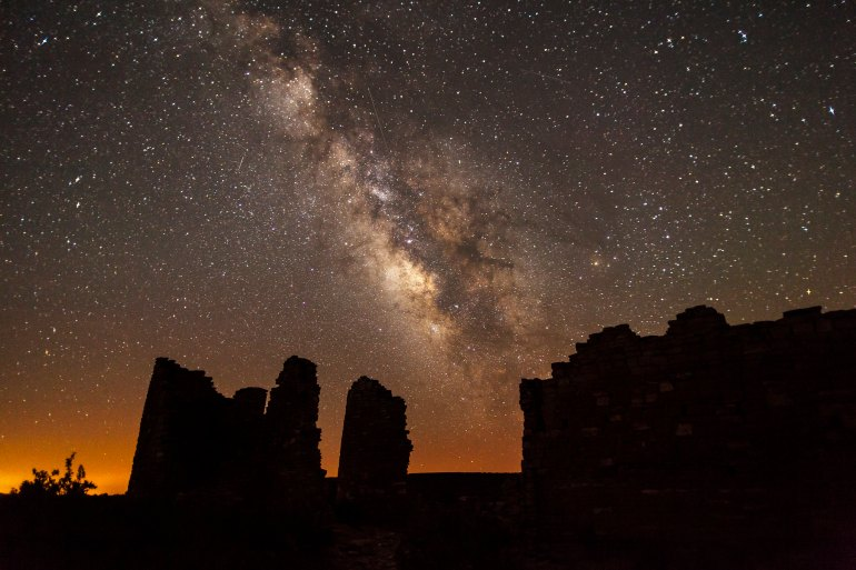 Hovenweep at night
