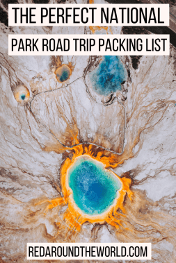 This is the perfect packing list for camping in the national parks on a road trip including the best hiking and camping gear for day hikes beginner campers.