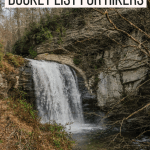 This is the best outdoor North Carolina bucket list. These are the best hikes in North Carolina and the best waterfalls near Asheville. You'll find the best waterfalls in North Carolina.