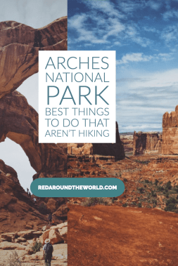Short on time? Not a hiker? Don't skip Arches National Park in Moab! This is a guide to what to do in Arches National Park if you don't hike. Arches Utah | Arches national park utah | arches national park things to do | Moab things to do | Moab Utah | Arches things to do | not hiking at arches national park | not hiking at arches | utah national parks | utah road trip | utah things to do | utah national parks road trip | Utah mighty 5 #utah #nationalparks #utahroadtrip #moabutah