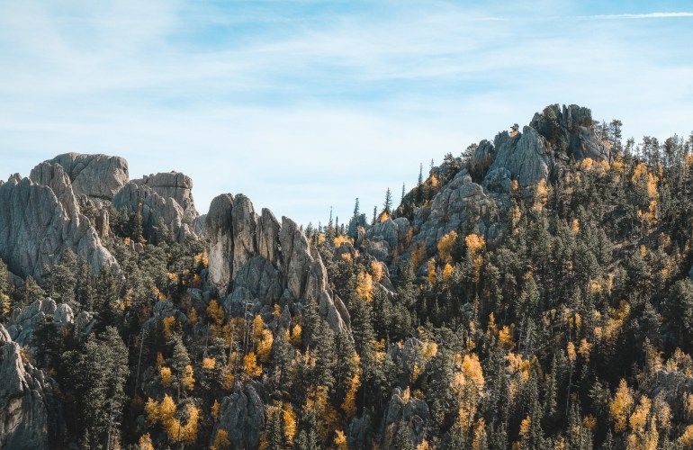 The needles highway black hills south dakota