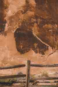 moab man golf course rock art moab utah