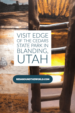 Edge of the Cedars State Park in Blanding Utah is a great stop to see ancient ruins and artifacts on a Four Corners road trip. Visit on your way to Moab. Utah travel | Utah things to do | Utah vacation | Utah road trip | Utah national parks | Utah national parks road trip | Blanding utah | ruins in utah | utah state parks | edge of the cedars utah #utah #usa #roadtrip