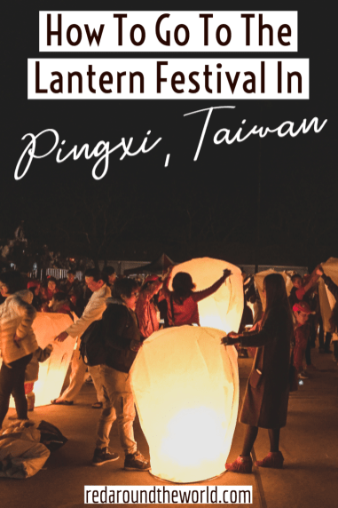 The Pingxi Lantern Festival is the coolest ways to celebrate Chinese New Year in Taiwan. It's the perfect day trip from Taipei and it's super easy to get to. Taiwan travel | Taiwan photography | Taiwan things to do | Taiwan vacation | Pingxi lantern festival | Pingxi sky lantern festival | Pingxi old street | taiwan Taipei | Taipei Taiwan | taipei day trip