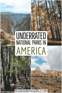 Check out some of the most underrated national parks in the US. These are underrated national parks are perfect for a national park road trip. national parks road trip   national parks in the US   best US national parks   best national parks in the usa   usa national parks   usa national parks road trip   best hikes in the usa   best usa national parks