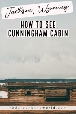 The Cunningham Cabin trail is a nice, easy walk along highway 191 in Grand Teton National Park. It's a historic cabin in the heart of the park. US National Parks | National Park road trip | grand teton national park | jackson wyoming things to do | jackson hole vacation | hiking in the tetons | hikes in the tetons | things to do in the tetons
