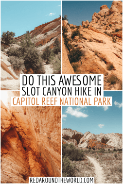 Surprise Canyon: A Capitol Reef Slot Canyon Red Around the ...
