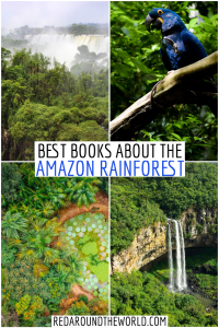 These are the best books about the Amazon Rainforest that will make you feel like you're there. They are perfect to read before your trip there. amazon rainforest books | amazon jungle | amazon rainforest | Peruvian amazon | Bolivian amazon | Brazilian Amazon | books about the amazon rainforest | books about the amazon