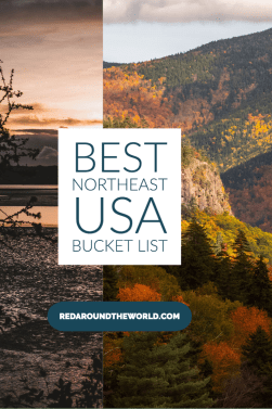 This is the best northeast USA bucket list for hikers. It's got the best hikes in the northeast including Maine, New Hampshire, New York, and Rhode Island. northeast bucket list | northeast USA bucket list | new England bucket list | new England hikes | new England fall | New England hiking | new England hiking bucket list