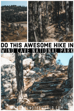 The Rankin Ridge Trail is one of the best hikes in Wind Cave National Park. Its a moderate hike with one of the best views from the highest point in the park. Black hills south Dakota | black hills road trip | south Dakota road trip | south Dakota travel | south Dakota vacation | wind cave national park | south Dakota national parks | south Dakota hikes | rankin ridge wind cave hike