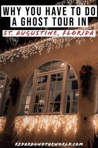 A ghost tour in St. Augustine is one of the best things to do on a north Florida road trip. There are tons of ghost tours in St. Augustine for everyone. ghost tour | dark tourism | Florida travel | Florida vacation | Florida things to do | st. Augustine Florida | st. Augustine ghost tour | St. Augustine things to do