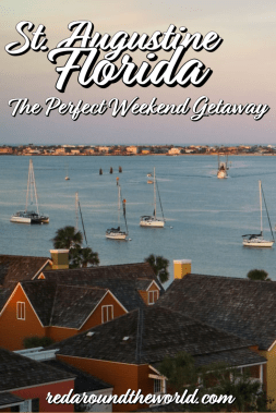 This guide will help you plan a weekend in St Augustine Florida. Visit the oldest city in the US & take a ghost tour, see forts, a lighthouse, and old town. St. Augustine florida | St Augustine things to do | st augustine vacation | weekend in st augusting | florida road trip | | florida vacation | florida things to do | florida places to go