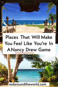 These places will make you feel like you're in a Nancy Drew Game, but in real life. From Japan to Arizona or the Bahamas to England. Nancy drew | Nancy drew games | nancy drew game locations | nancy drew games here interactive | nancy drew games aesthetic | nancy drew games her interactive