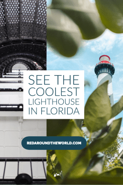 The St. Augustine Lighthouse is a must-see on a trip to the oldest city in the US. Climb the lighthouse for the best view in Florida. Florida lighthouses | Florida vacation | Florida things to do | St. Augustine vacation | St. Augustine things to do | St. Augustine Florida | St. Augustine Lighthouse | St. Augustine Florida photography | St. Augustine Florida things to do #Florida #USA #StAugustineFlorida