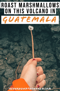 One must-do activity in Guatemala is to climb Volcan Pacaya in Antigua, an active volcano just outside of Guatemala City. It's the perfect sunset hike. Guatemala things to do | Antigua things to do | Antigua Guatemala | Backpacking Guatemala | volcanos in Guatemala | volcan pacaya antigua | climb volcan pacaya | volcan pacaya hike | Guatemala backpacking things to do | Guatemala vacation | volcano hike in central America | volcano hike in guatemala