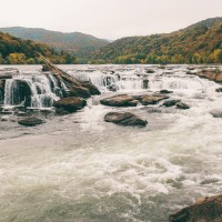 Fall In Love With West Virginia On The Sandstone Falls Trail In New River Gorge National Park