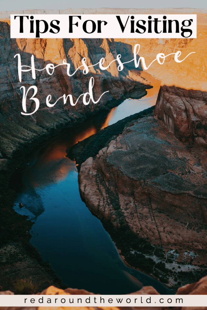The Horseshoe Bend hike in Page, Arizona is the perfect road trip stop. Its an easy hike with stunning canyon views. Horseshoe Bend is a must-see in Arizona. Horeseshoe bend | page arizona | things to do in page arizona | page arizona things to do | Arizona road trip | southwest road trip | horseshoe bend arizona | Arizona vacation | Arizona things to do