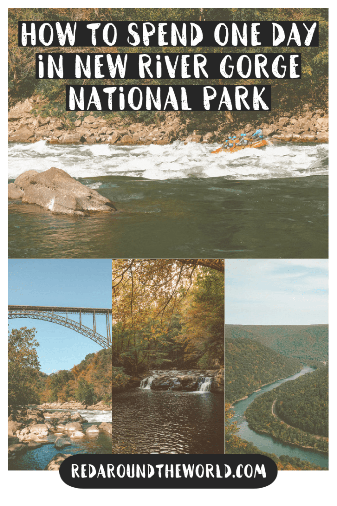 New River Gorge National Park is huge and can be overwhelming but this guide will help you plan the perfect one day in New River Gorge. New River Gorge national park | new river gorge west Virginia | new river gorge national park | things to do in west Virginia | west Virginia things to do | one day in new river gorge | hikes in new river gorge | new river gorge hiking | west Virginia travel