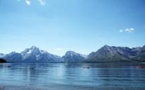 Hiking around Jackson Lake