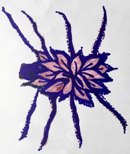 Clip Clap's Spider Costume