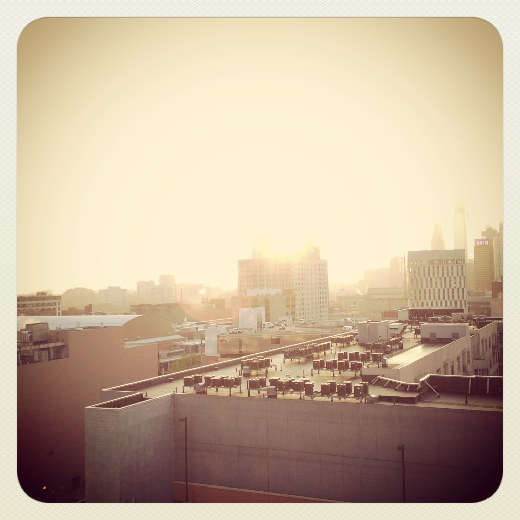 Philadelphia, early morning